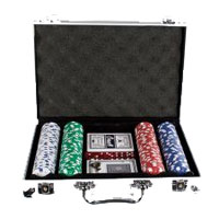 Maletin Set Poker 200 fichas