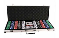 Maletin Set Poker 500 fichas